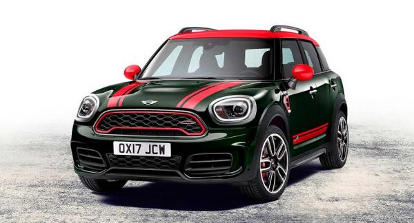 Mini Countryman i John Cooper Works-utförande.