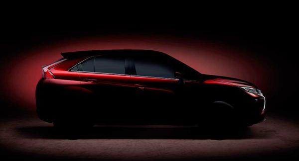 En glimt av Mitsubishis nya kompaktsuv.