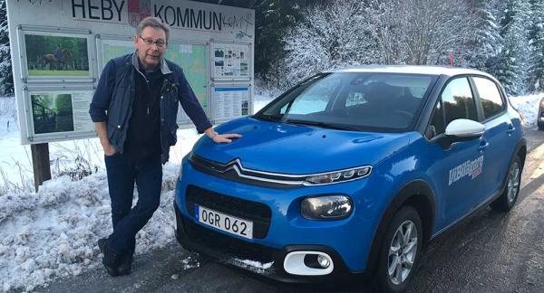 Nya Citroën C3 var färskast av de tre bilarna i testet. Men klarar den att sätta Renault Clio och Skoda Fabia på plats?