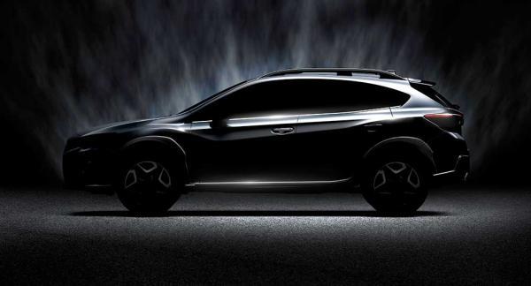 Mer av nya Subaru XV får vi se i mars.