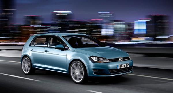 2016 års vanligaste bilmodell i statistiken: Volkswagen Golf.