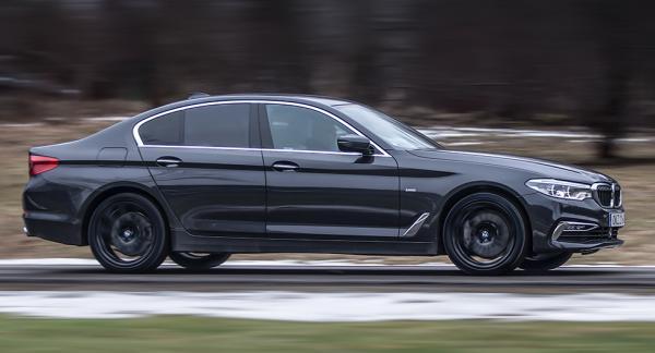 I framkant. Nya BMW 5-serien är späckad med tekniska finesser.