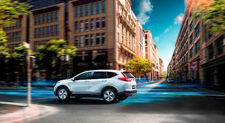 Honda CR-V blir hybrid, i alla fall i Kina.