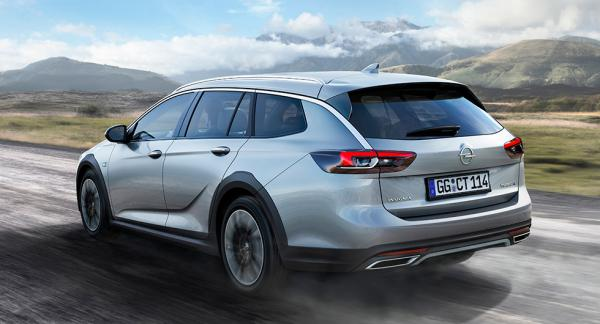 Opel Insignia Country Tourer med offroadambitioner.
