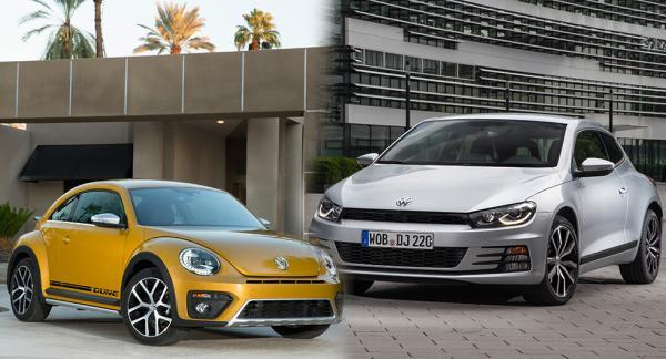 Försäljningen av Beetle och Scirocco går trögt. Nu funderar Volkswagen på att skrota modellerna.
