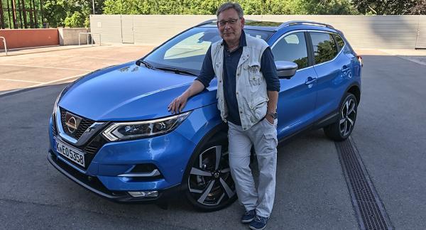 Motorjournalist Mikael Schultz märker inga större förändringar i körkänslan på uppdaterade Nissan Qashqai.