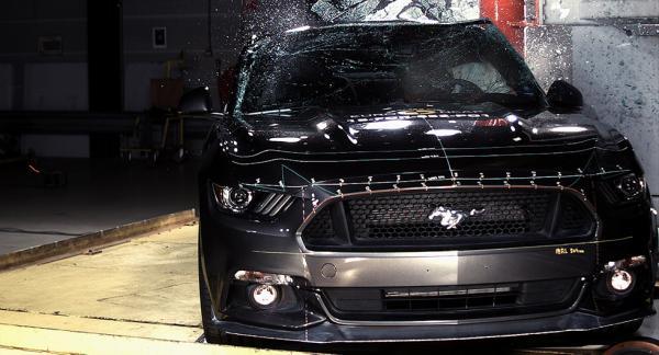 Ford Mustang gjorde om krocktestet i Euro NCAP och höjde sig från en tvåa till en trea.