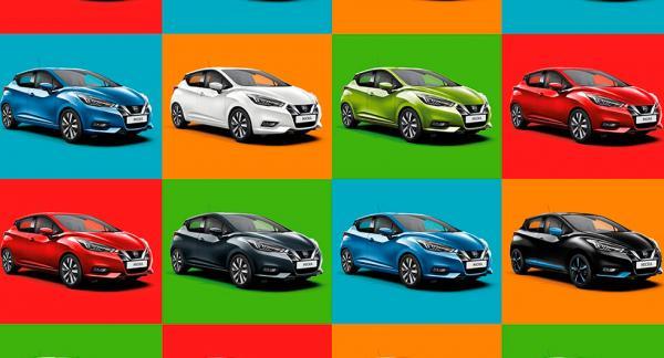 Analysen av europeiska förares färgval på bilar gjordes av Nissan som ett led i att marknadsföra nya versionen av småbilen Micra, vilken kan fås i tio olika färger.