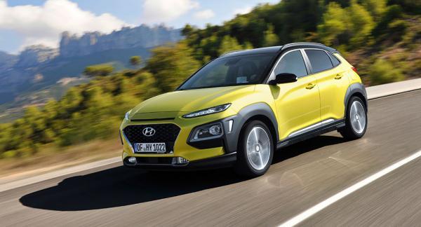 Hyundais designchef Peter Schreyer har tagit ut svängarna i designen av Kona.