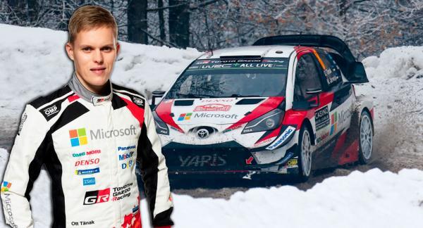 Toyotaföraren Ott Tänak kan skrälla i årets Svenska Rally.