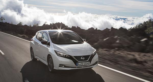 Leaf har fått ny design som ska anknyta till resten av Nissans modellprogram.