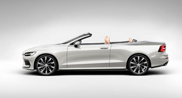 Volvo S60 som cabriolet. Illustration: Vi Bilägare.