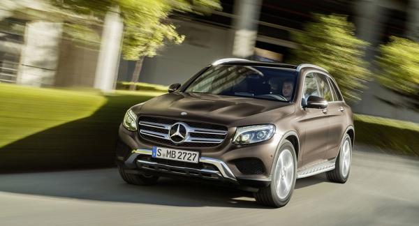 Otillåten programvaran har bland annat hittats i Mercedes GLC med dieselmotorn 220 d.
