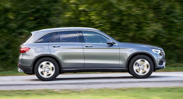 Vid 100 km/tim uppstår små skakningar i frågeställarens Mercedes GLC.