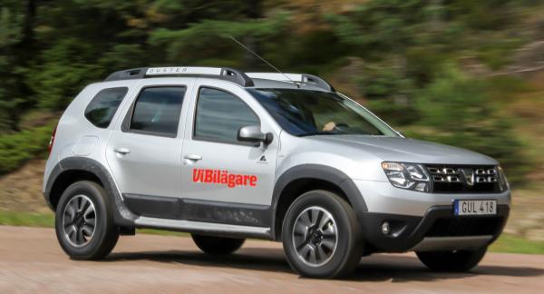 Fyrhjulsdrift, tuff design och lågt pris har gjort Dacia Duster populär. Men säkerhet och komfort är svaga punkter.