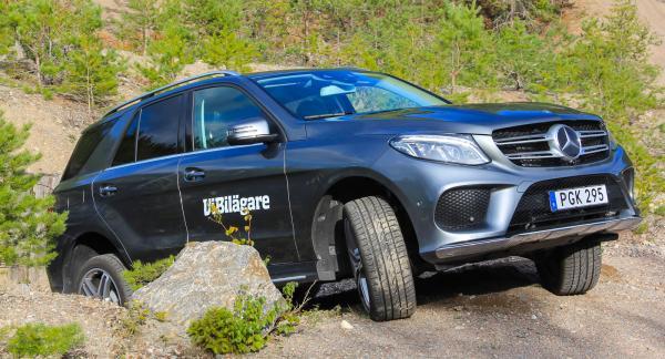 Mercedes ML/GLE är en stjärna i skogen och klarar också att dra tunga släp.