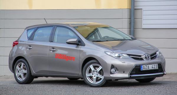 Toyota Auris – här i generation två – är ersättaren till tidigare storsäljaren Corolla.