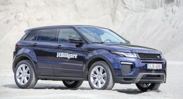 Range Rover Evoque är ingen renodlad terrängbil, men framkomligheten på dåligt underlag är bra.
