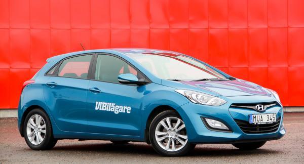 Hyundai i30 är ett tryggt bilval i Golfklassen.