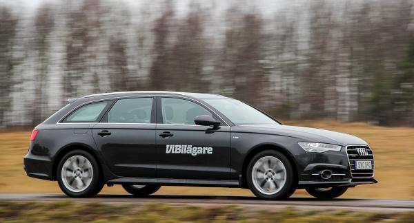 Senaste generationen av Audi A6, här i Avantutförande, är både bekväm och rolig att köra, men dyr även som begagnad.