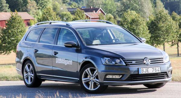 Kombinationen av hög säkerhet, bra komfort och stora utrymmen har gjort VW Passat Variant till en populär familjebil.