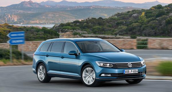Volkswagen Passat i sin nuvarande form. I januari presenteras den nya.