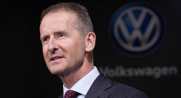 Herbert Diess, Volkswagens nuvarande vd, anklagas tillsammans med tidigare vd:n Martin Winterkorn och nuvarande styrelseordförande Hans Dieter Pötsch för marknadsmanipulation.
