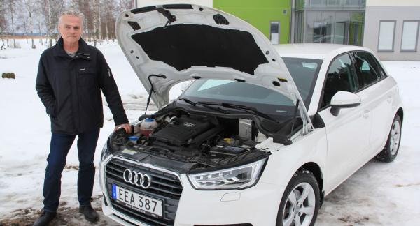 Är ryckningarna hos motorn i Krister Himbergs Audi ett fel eller en egenskap?
