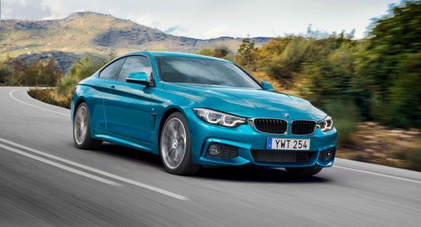 BMW 4-serien (på bild coupé) får högst poäng av de skandinaviska bilägarna.