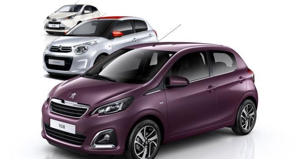 Trots att trillingbilarna Peugeot 108, Citroën C1 och Toyota Aygo är i stort sett identiska uppfattas de helt olika av sina ägare.