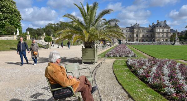 Luxenbourgträdgården har plats för både avkoppling, aktiviteter och romantiska promenader.