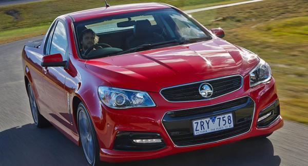 """Holden har bland annat gjort sig kända för den speciella australiska biltypen """"ute"""", mindre pickupbilar som sålt extremt bra."""
