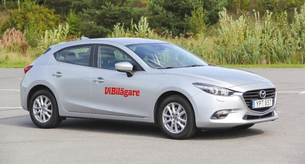 Mazda 3 är populär som begagnad tack vare bra kvalitet och långa garantier.