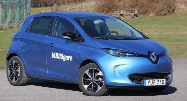 Renault Zoe är en liten och billig elbil som passar bäst för kortare turer.