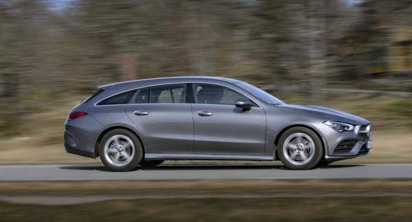 Bagaget i nya Mercedes CLA Shooting Brake slukar tio liter mer än förgående generation.