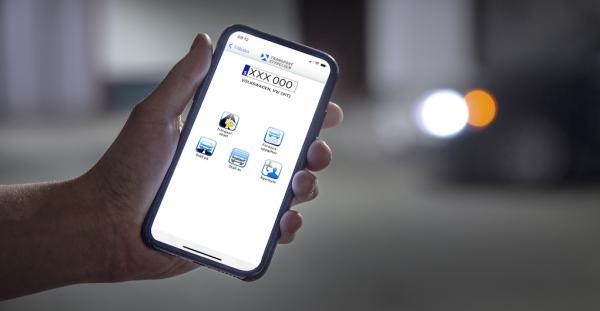 """Med appen """"Mina fordon"""" kan du enkelt och smidigt registrera ett ägarbyte."""