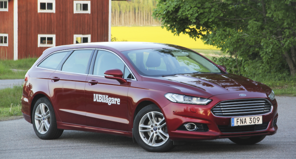 Ford Mondeo, här i kombiutförande, är en familjebil till vettigt pris.