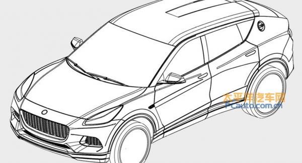 Tack vare läckta patentbilder får vi en ganska bra bild av hur Lotus kommande suv-konkurrent till bland andra Lamborghini Urus och Porsche Cayenne Coupé kommer se ut.