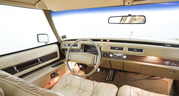 Cadillac Eldorado 1978 erbjöd sittplatser med komfort som i en dröm!