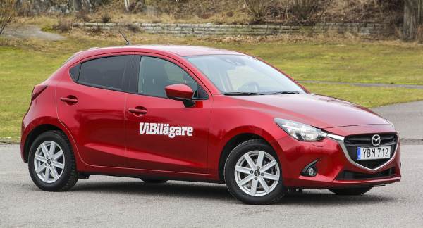 Mazda 2 borde vara ett tryggt begköp i småbilsklassen, med lång garanti.