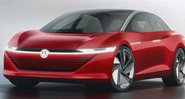 En sedanmodell från Volkswagen blir först ut med den nya plattformen om fyra år.
