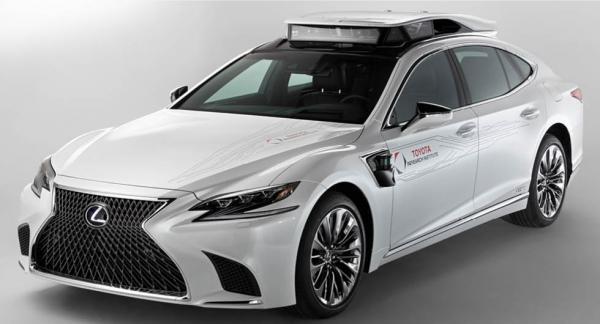 Bilden visar inte en bil från Lyft utan en experimentbil från Toyotakoncernen.