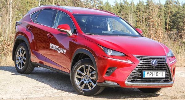 En Lexus för skogen? Nej, Lexus NX är en suv som inte riktigt passar för terrängkörning.