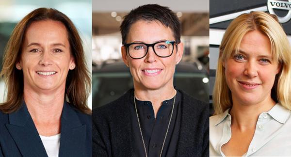 Mäktigast i Sverige. Från vänster: Jessica Span, Maria Olofsson och Anna Liljedahl. Foto: pressbilder