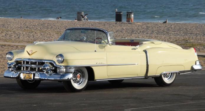 Bildquiz: Gammal Cadillac?