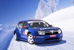 Ny Daciamodell under skalet på isracer