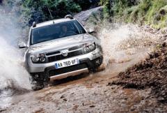 Dacia Duster: Rapport från provkörningen