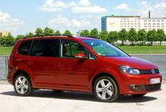 Provkörning: Volkswagen Touran