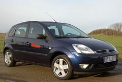 Rosttest: Ford Fiesta 1.4i Ambiente (2002)