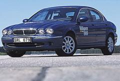 Rosttest: Jaguar X-Type V6 2,5 (2002)